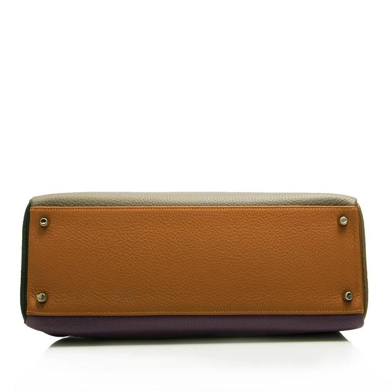Hermes Limited Edition Harlequin Kelly 35 cm  4