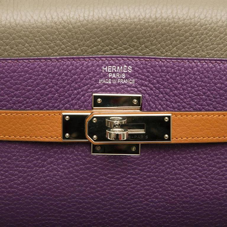 Hermes Limited Edition Harlequin Kelly 35 cm  6
