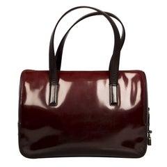 Prada Burgundy Red Leather Bag