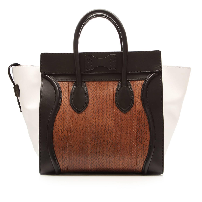 773fa05fa69f Celine Medium Luggage Tote Bag at 1stdibs
