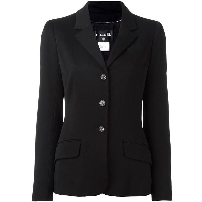 Chanel Black Jacket 1