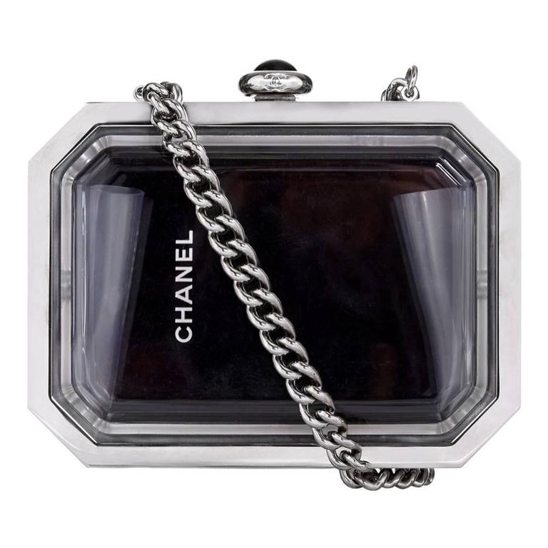 Vintage Chanel See-Through Minaudiere
