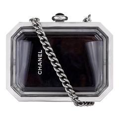 Vintage Chanel See-Through Minaudiere