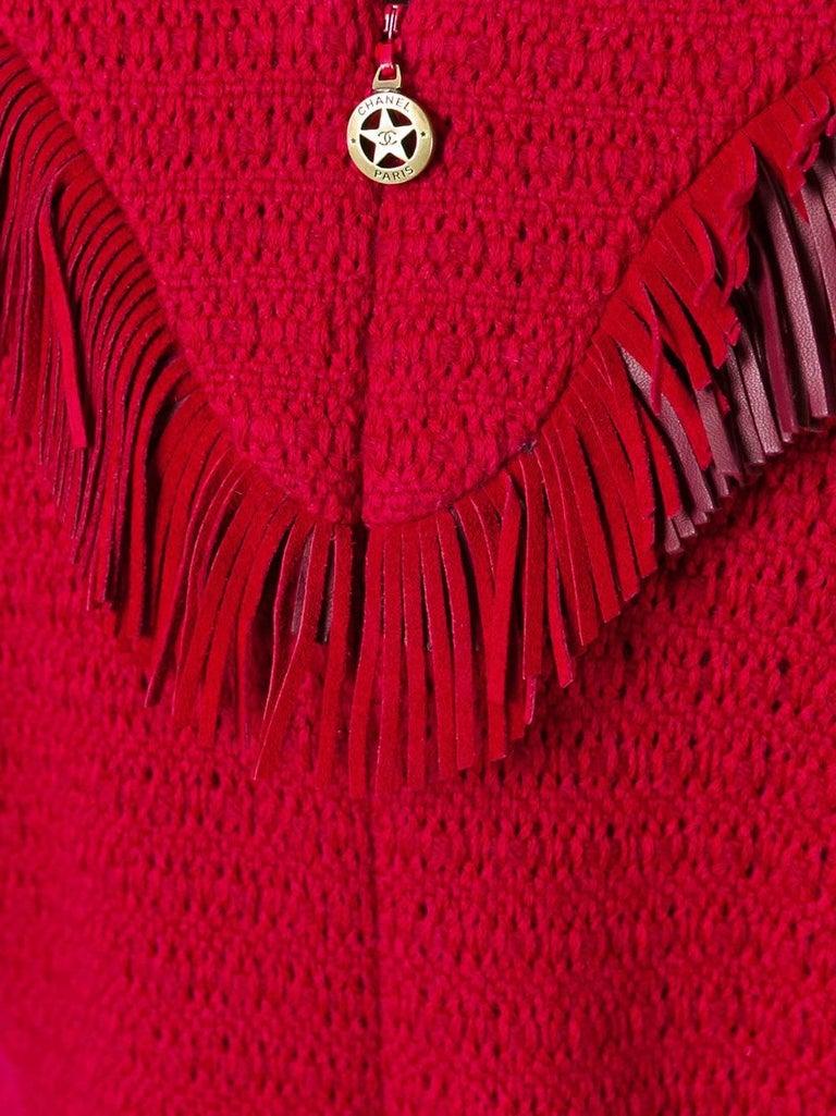 Chanel Tweed Fringe Dress 2
