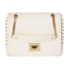 Emilio Pucci White Shoulder Bag