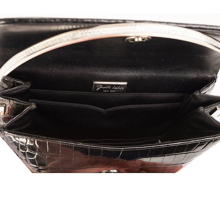 Women's Judith Lieber Black Evening Bag For Sale
