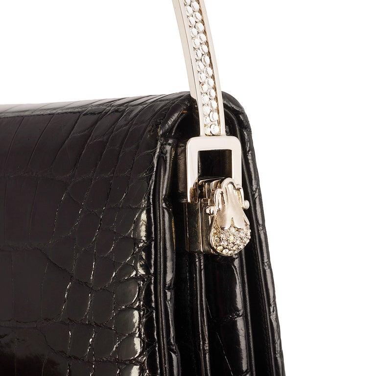 Judith Lieber Black Evening Bag For Sale 1