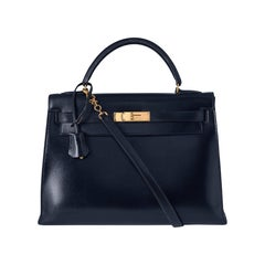 Hermes Black Kelly Bag