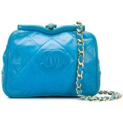 Chanel Peacock Blue Bag