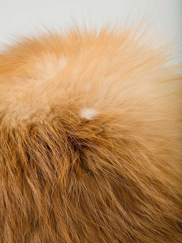 Christian Dior Vintage Fox Fur Hat In Excellent Condition For Sale In London, GB