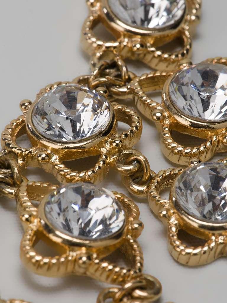 Christian Dior Vintage Chain Neckace 2