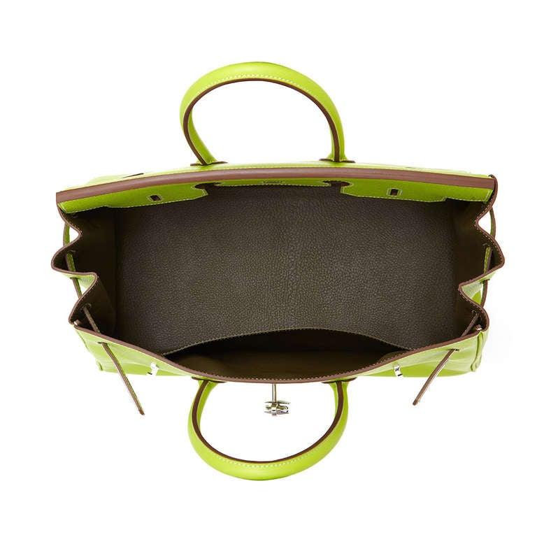 Hermès Candy Kiwi 35cm Birkin Bag 4