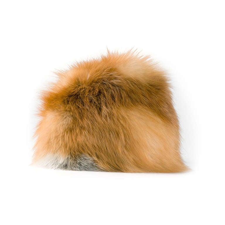 Christian Dior Vintage Fox Fur Hat For Sale
