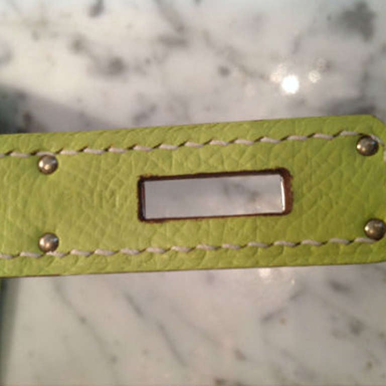 Hermès Candy Kiwi 35cm Birkin Bag 5
