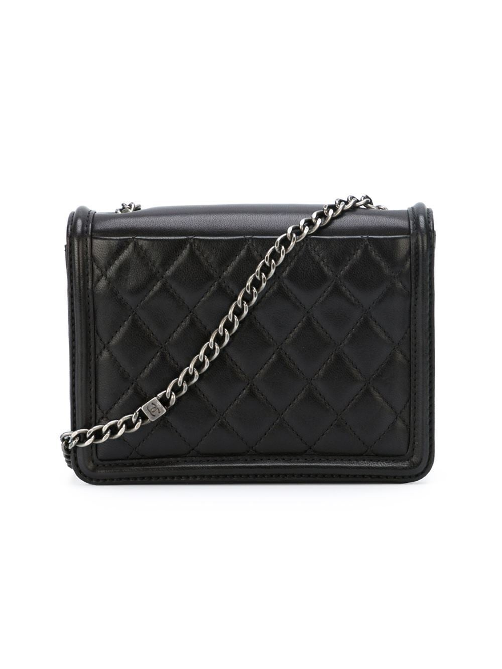 Chanel Lambskin Quot Boy Brick Quot Shoulder Bag At 1stdibs
