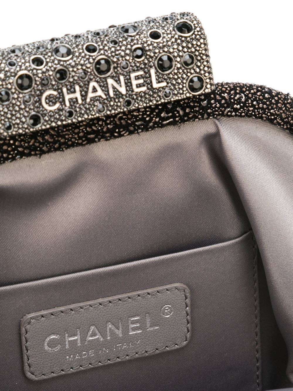 Chanel Degradé Stingray Clutch In New never worn Condition For Sale In London, GB
