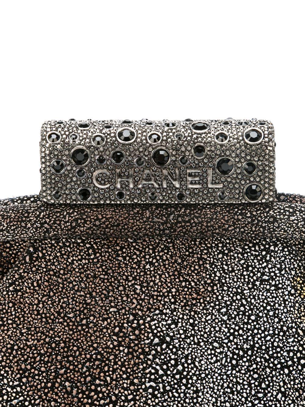 Women's Chanel Degradé Stingray Clutch For Sale
