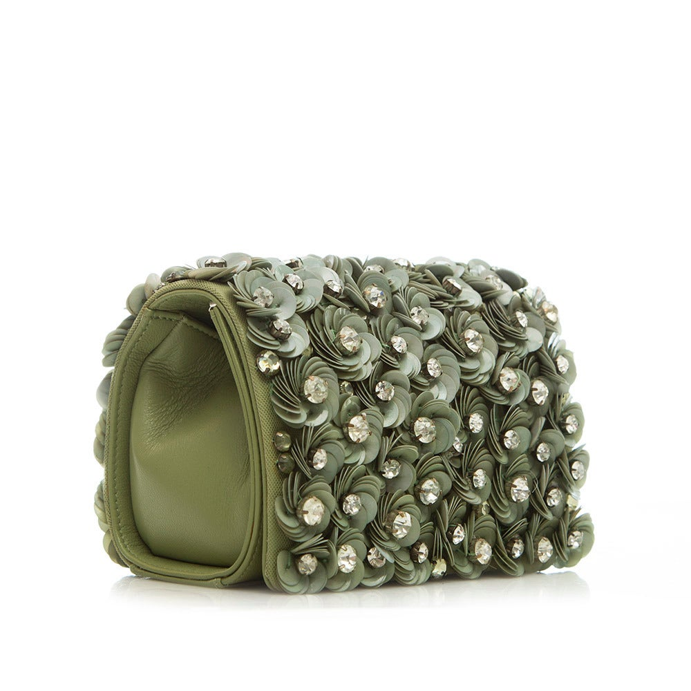 Marchesa Floral Detail Box Shoulder Bag 2