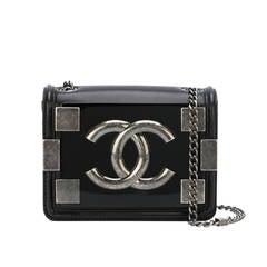 "Chanel Lambskin ""Boy Brick"" Shoulder Bag"