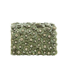 Marchesa Floral Detail Box Shoulder Bag