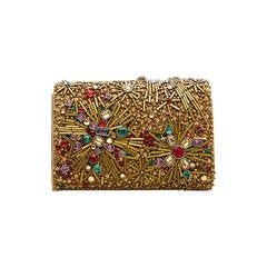 Marchesa Jewel Embellished Box Shoulder Bag