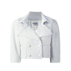 Chanel Textured Cropped Jacket