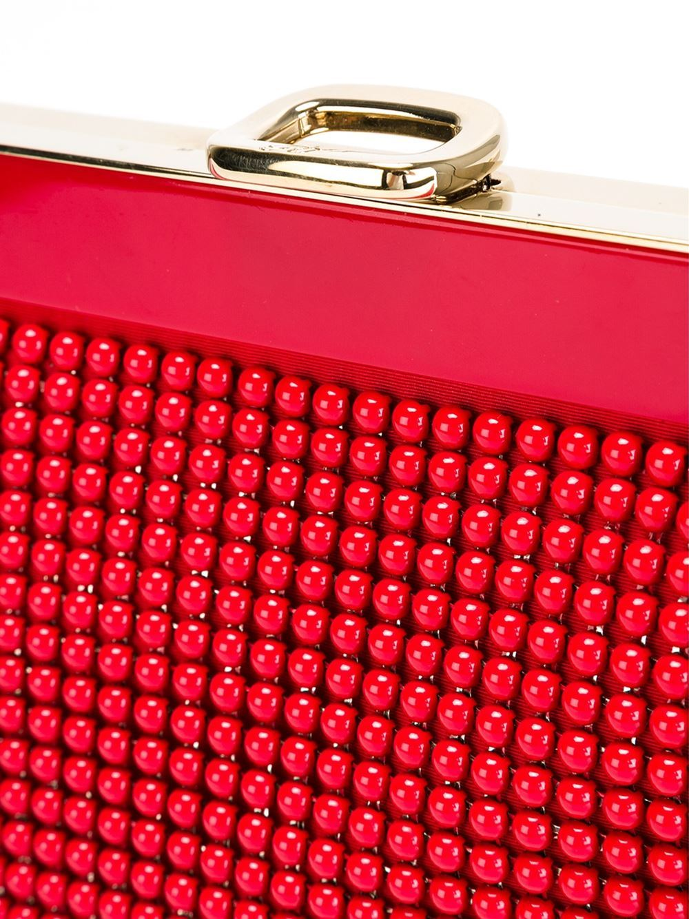 Roger Vivier Beaded Clutch In Excellent Condition For Sale In London, GB