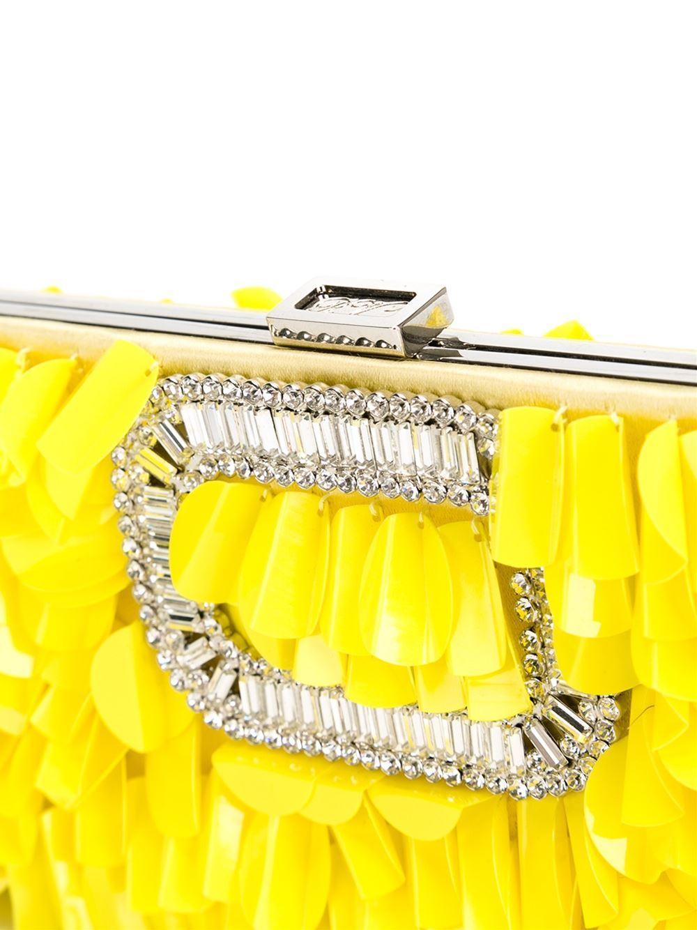 Women's Roger Vivier Embellished Clutch For Sale