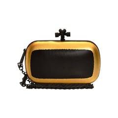 Bottega Veneta Two-ToneLeather Box Clutch