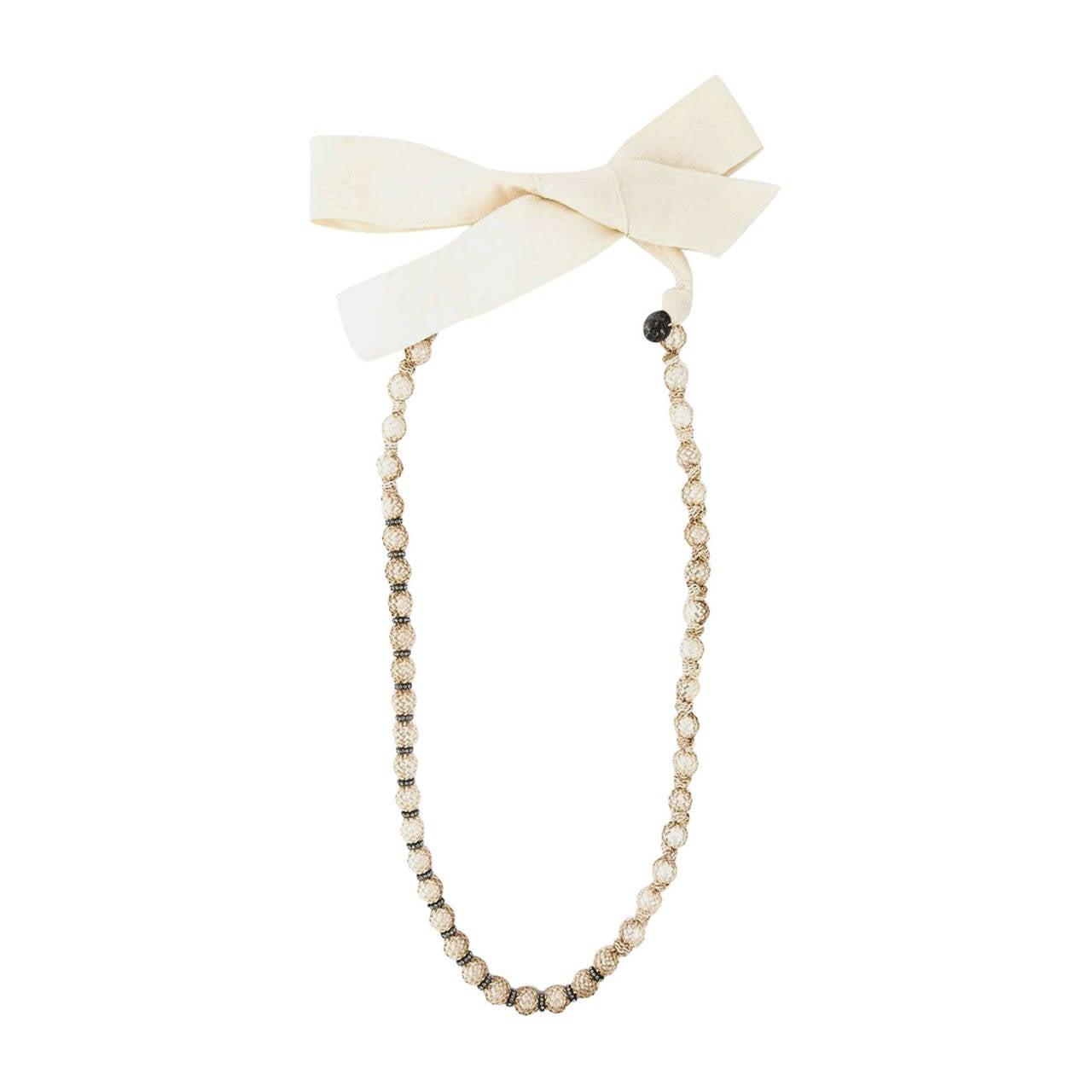 Lanvin Faux-Pearl Necklace 1