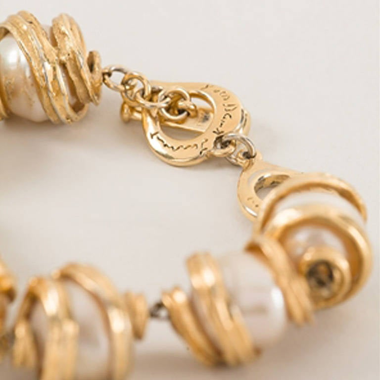 Yves Saint Laurent Vintage Bracelet.  	