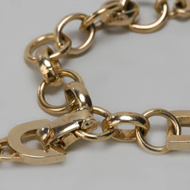 Christian Dior Vintage Chain Neckace In Excellent Condition For Sale In London, GB