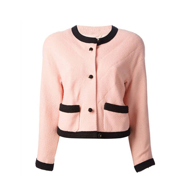 Chanel Pink Jacket 1