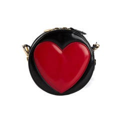 Moschino Vintage Mini Heart Bag