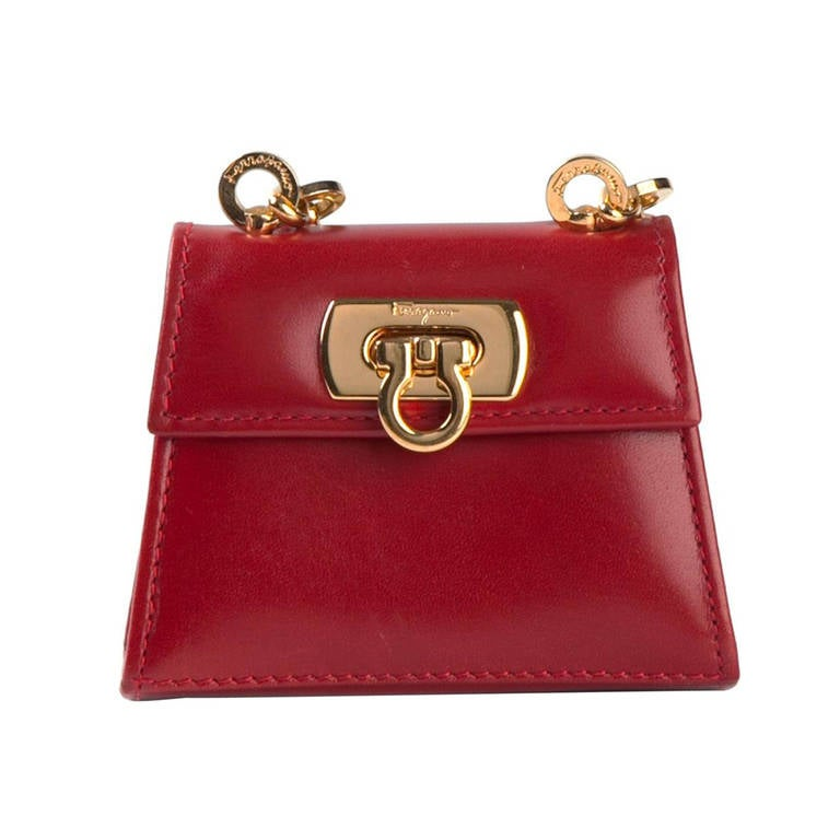fe8422397e93 Ferragamo Vintage Mini Shoulder Bag at 1stdibs