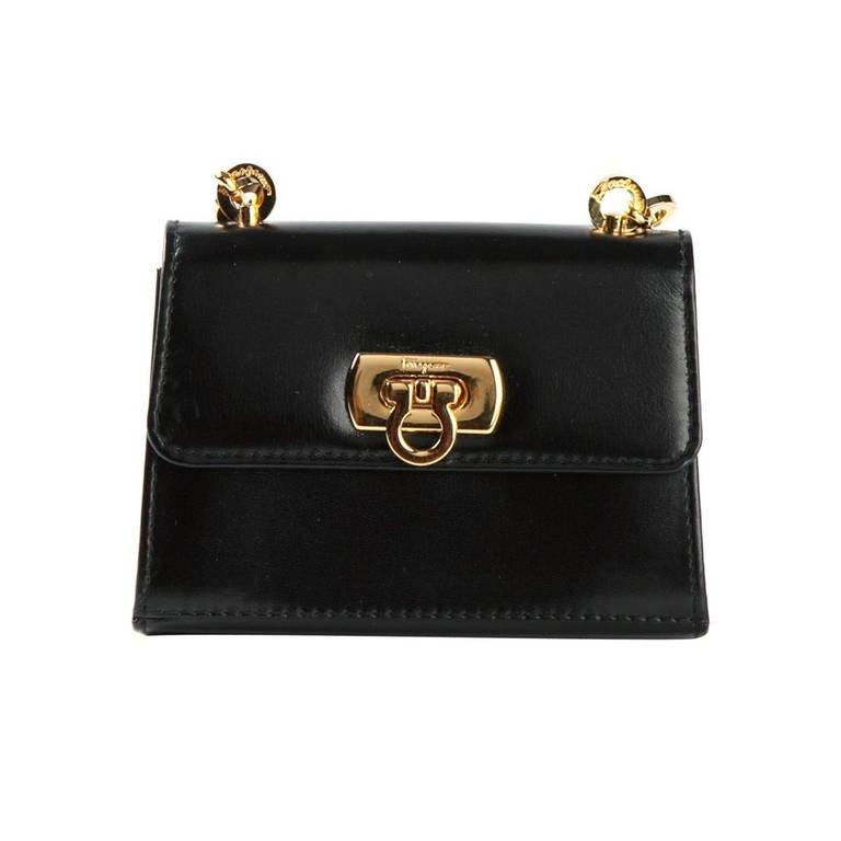 Ferragamo Vintage Mini Shoulder Bag For