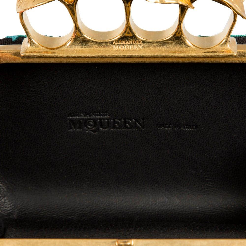 Alexander McQueen Short Knuckle Box Limited Edition Clutch 7