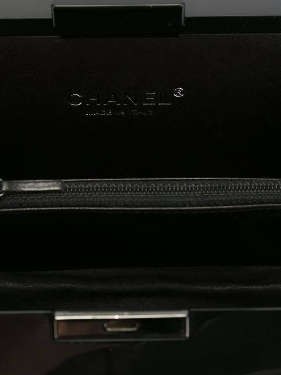Chanel Vintage Lego Brick Pearl Clutch In New Condition For Sale In London, GB