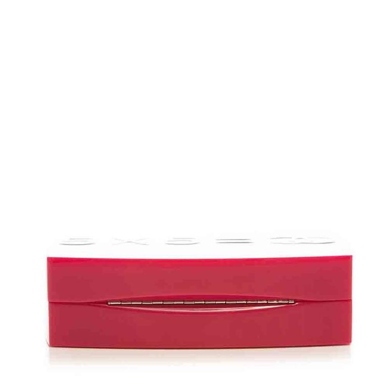 Chanel Pink Plexiglass Equation Bag 4