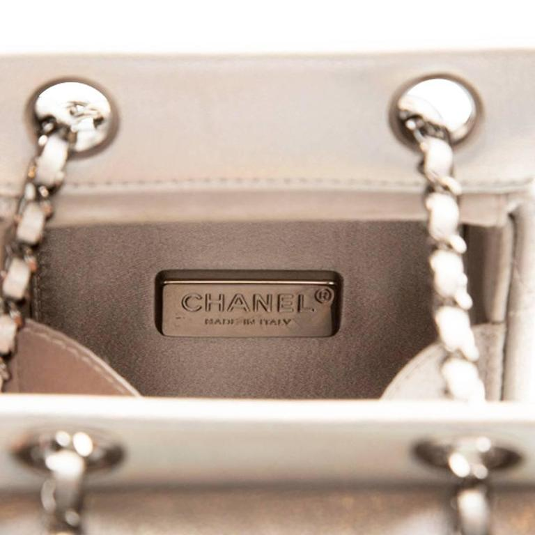 Chanel Silver Milk Carton Bag 5