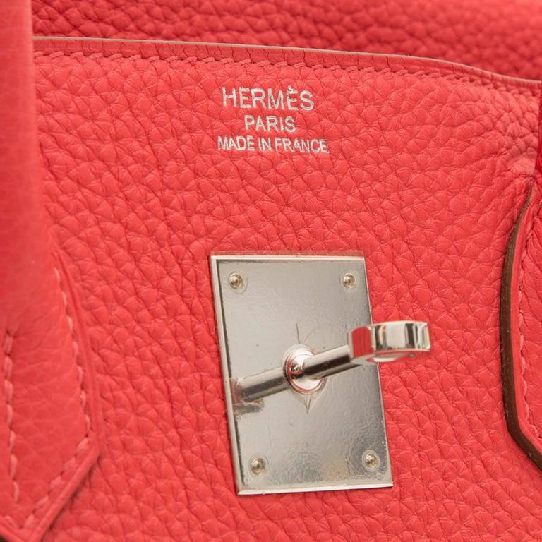 Women's Hermes Rose Jaipur Birkin Bag 35cm For Sale