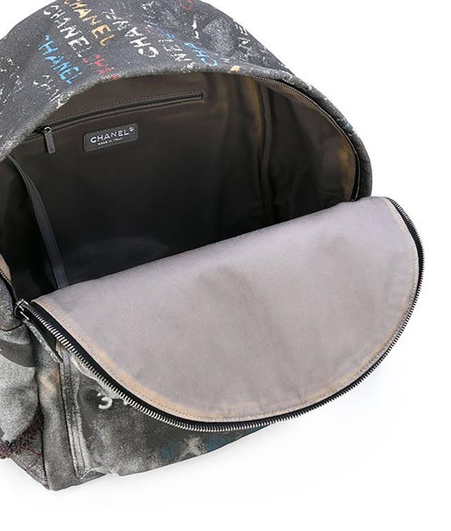 Chanel Graffiti Backpack 3