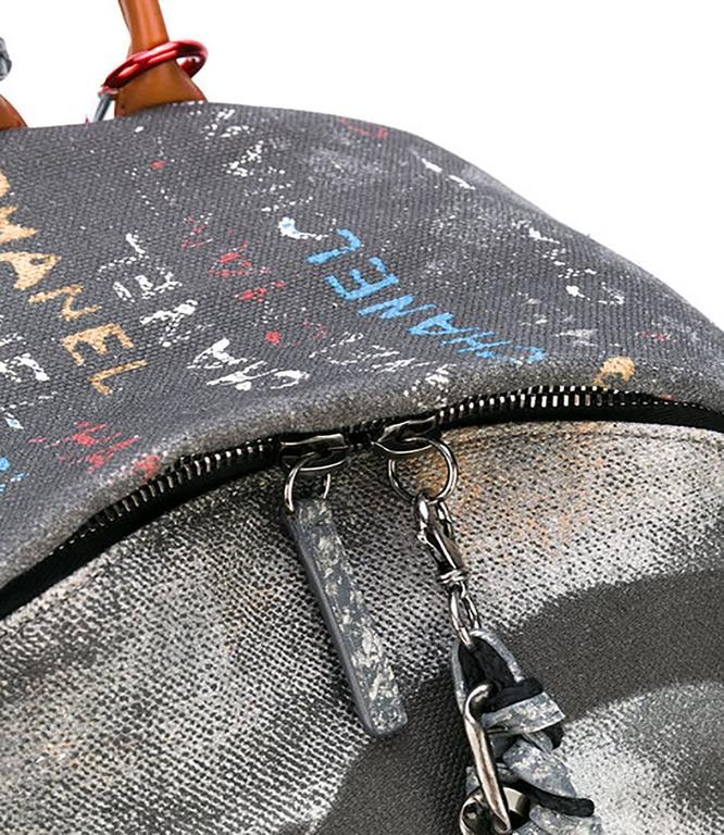 Chanel Graffiti Backpack 4