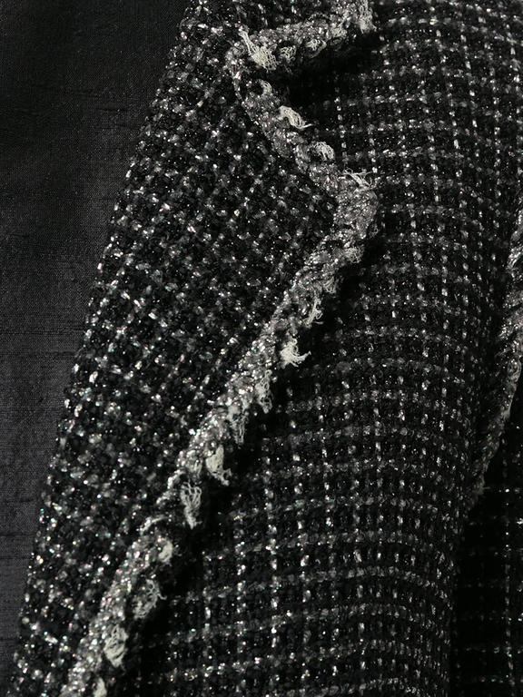 Chanel Metallic Tweed Jacket 2