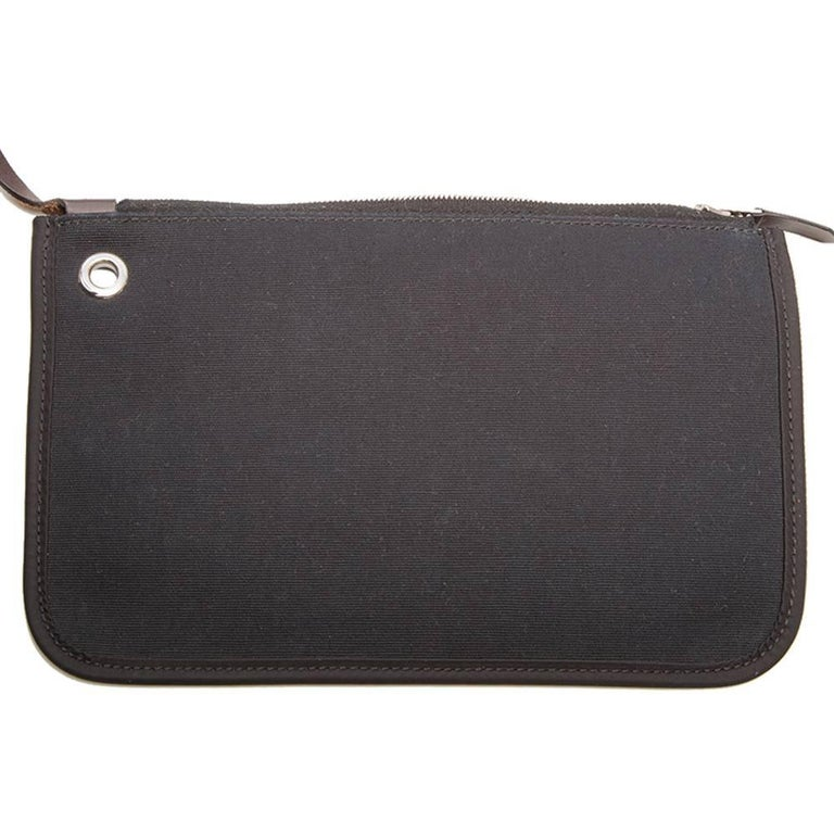 Hermes Herbag Canvas Tote Bag  For Sale 5
