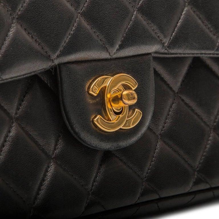 Chanel Black 2.55 Backpack For Sale 3
