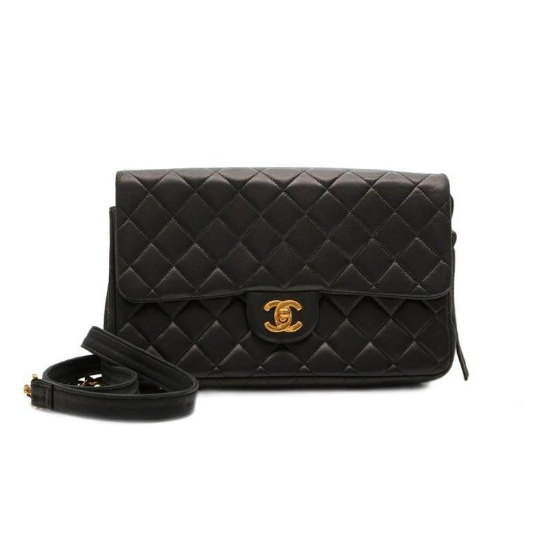 Chanel Black 2.55 Backpack For Sale 2