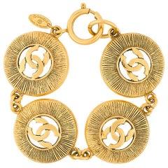 Chanel Logo Medallion Bracelet