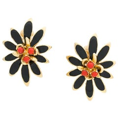 Vintage 1960s Clip-On Earrings