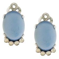 Vintage 1940s Clip-on Earrings